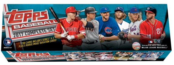 2017 Topps Baseball Complete Retail Factory Set