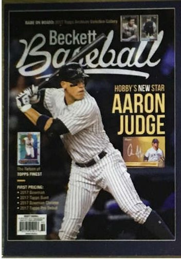 2017 Beckett Aaron Judge Nscc National Convention Rookie Promo D1000