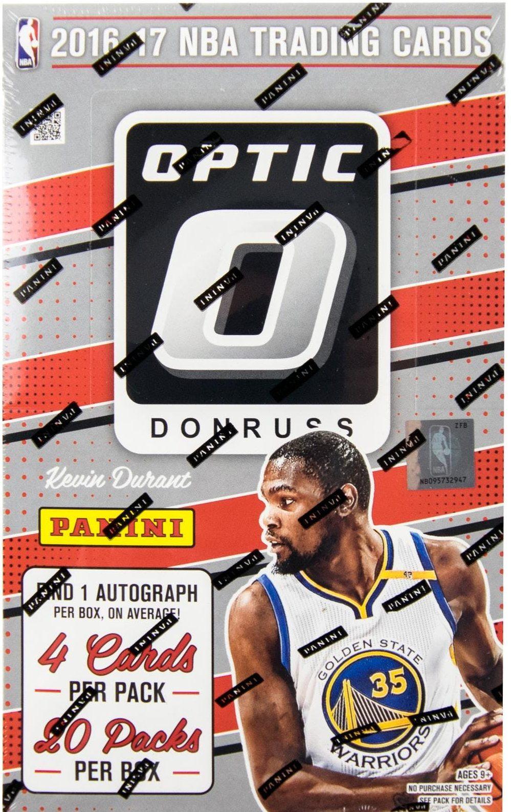 2016 17 Donruss Optic Basketball Hobby Box