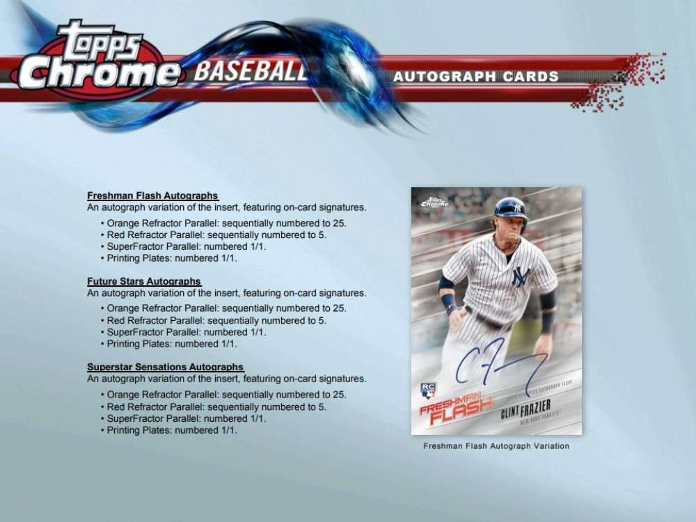2018 Topps Chrome Baseball Value Pack