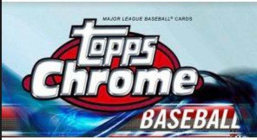 2018 Topps Chrome Baseball Value Pack