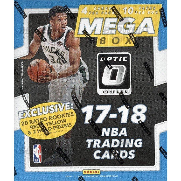 2017 18 Optic Basketball Mega Box