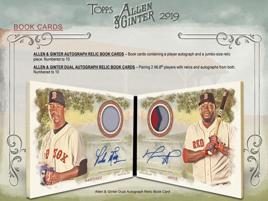 2019 Topps Allen Ginter Baseball Hobby Box