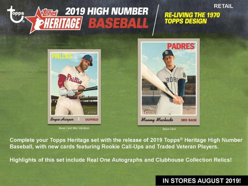 2019 Topps Heritage High Number Hanger