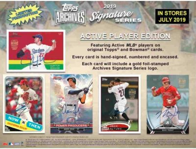 2019 Topps Archives Signature