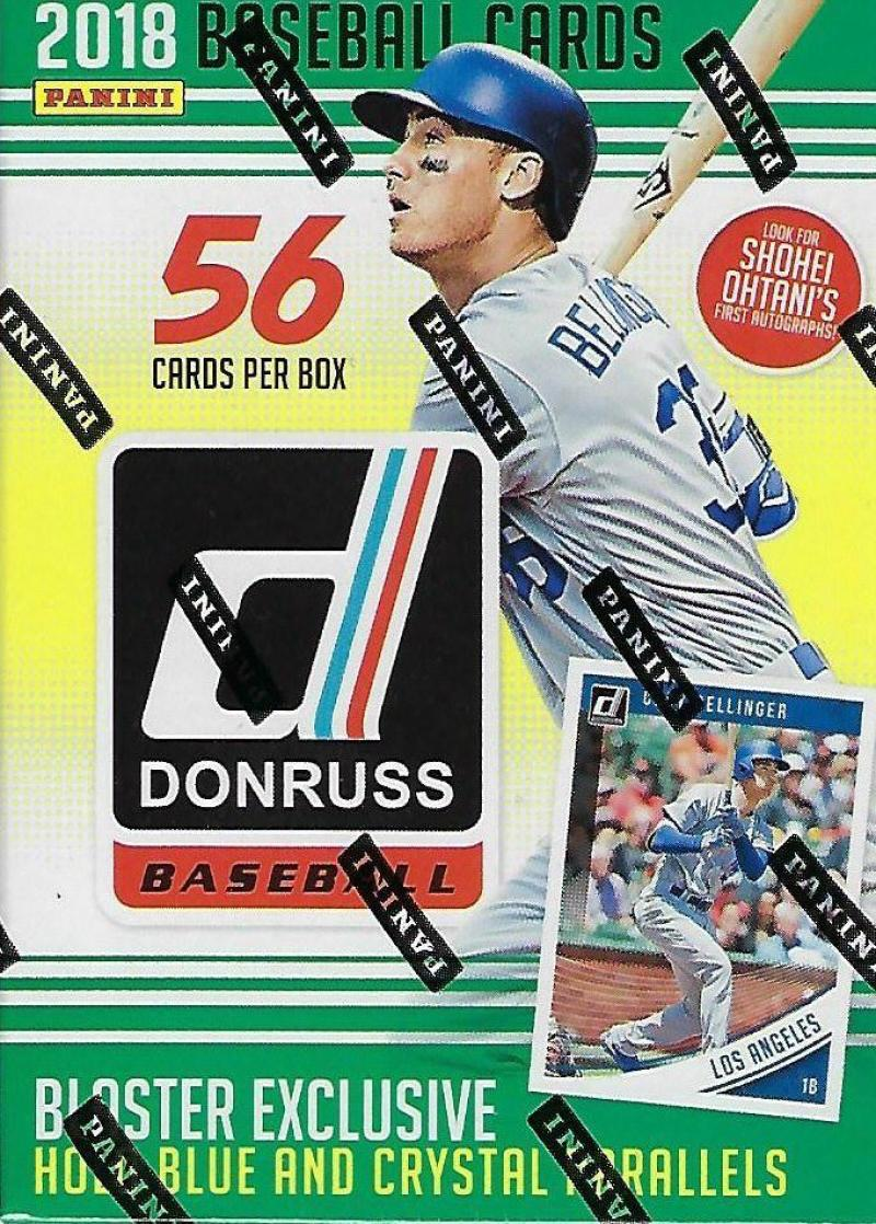 2018 Donruss Baseball Blaster Box