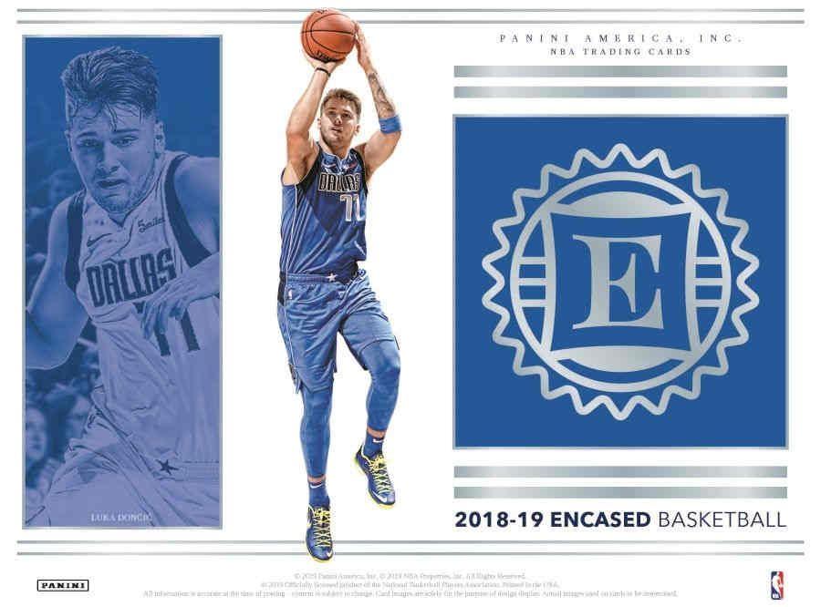 2018 19 Panini Encased Basketball Hobby