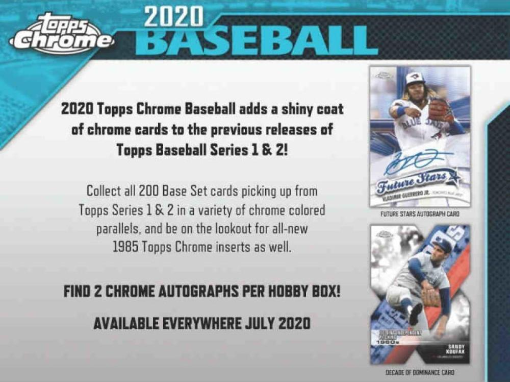 topps baseball cards 2020