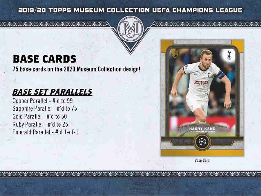 HOBBY BOX 2019 TOPPS UEFA CHAMPIONS MUSEUM COLLECTION SOCCER
