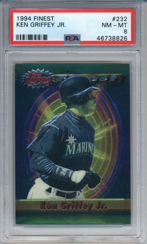 1994 Finest #232 Ken Griffey Jr. PSA 8