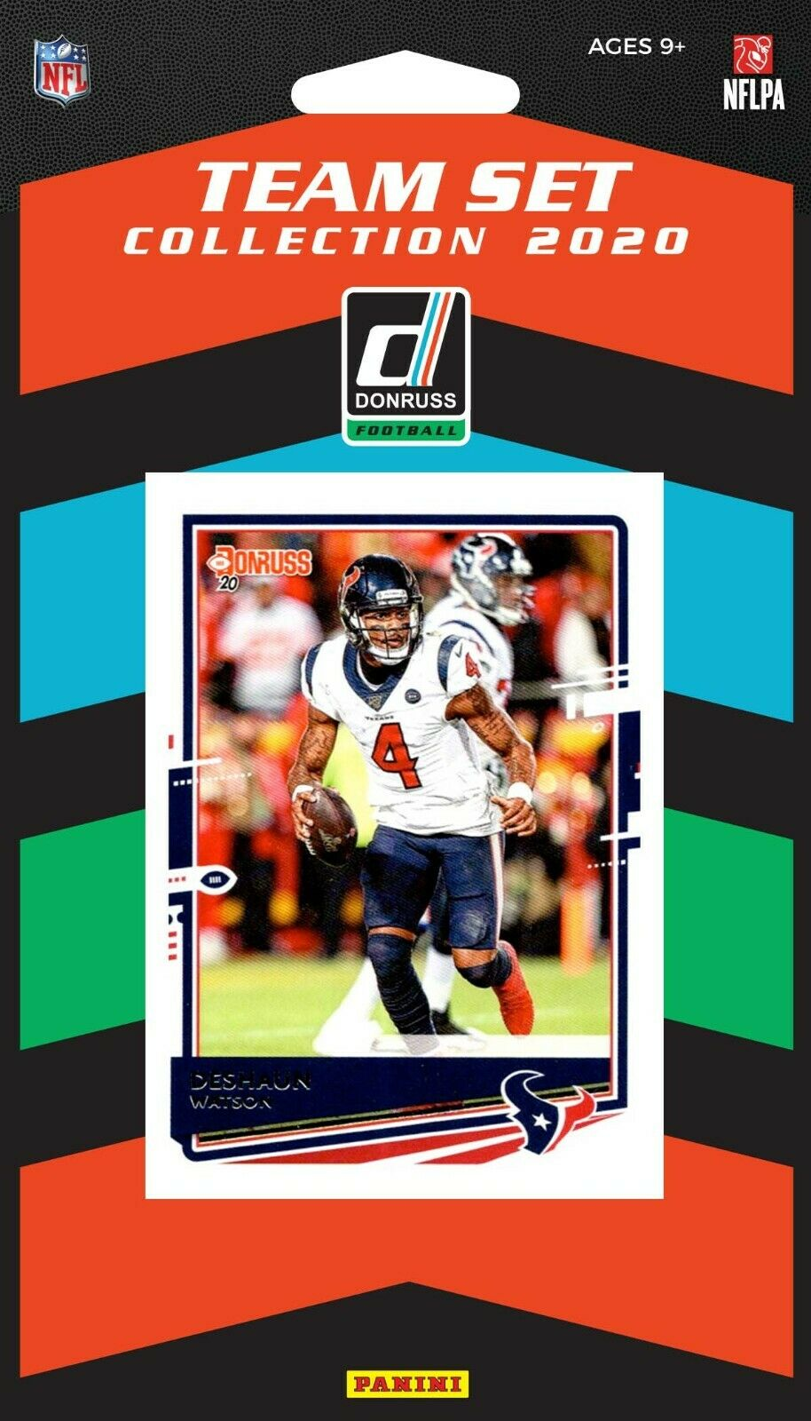 2020 Donruss Football Factory Houston Texans Team Set
