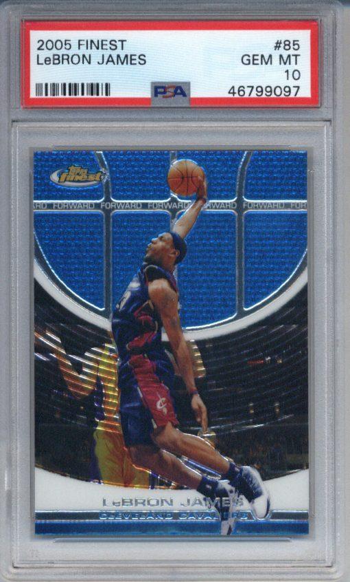 2005-06 Finest LeBron James #85 PSA 10