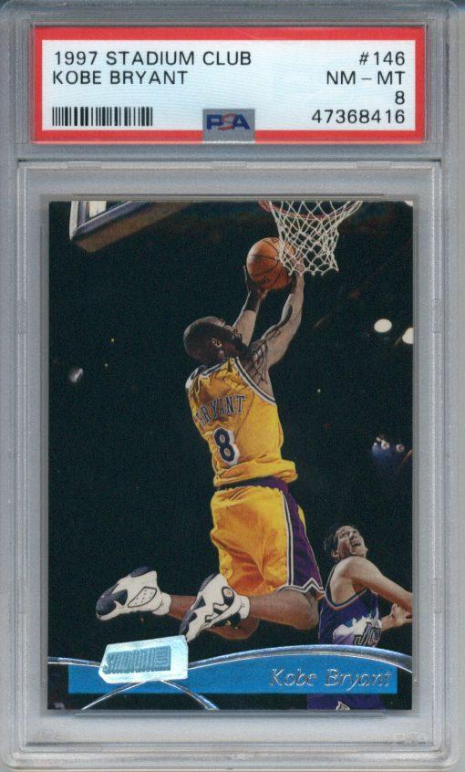 1997-98 Stadium Club Kobe Bryant #146 PSA 8