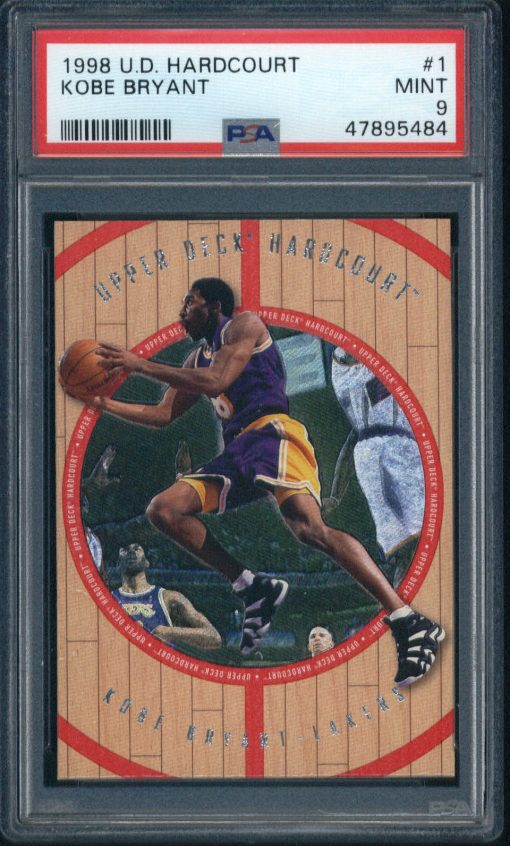 1998-99 Upper Deck Hardcourt Kobe Bryant #1 PSA 9