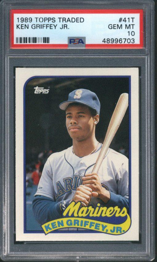 1989 Topps Traded Ken Griffey Jr. #41T PSA 10