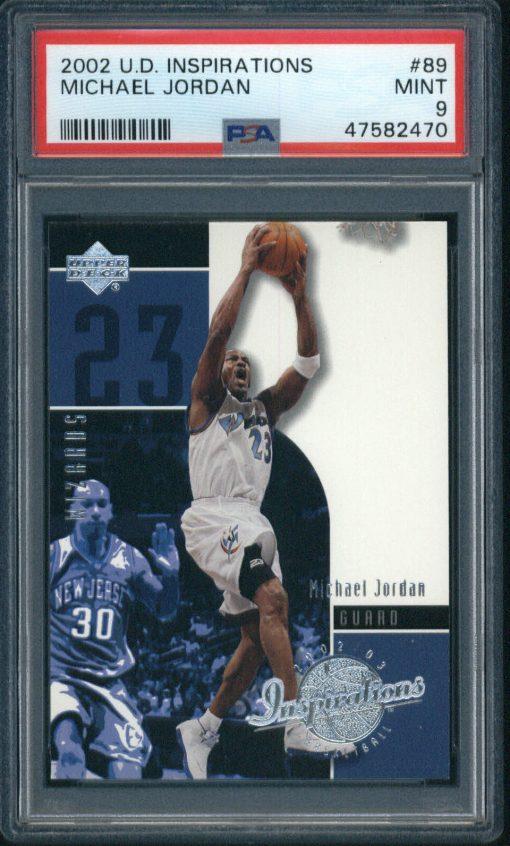 2002-03 Upper Deck Inspirations #89 Michael Jordan PSA 9