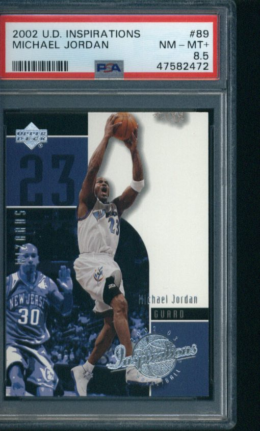 2002-03 Upper Deck Inspirations #89 Michael Jordan PSA 8.5
