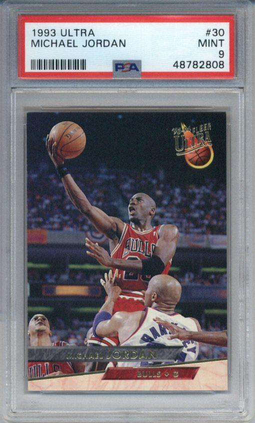 1993 Ultra #30 Michael Jordan PSA 9