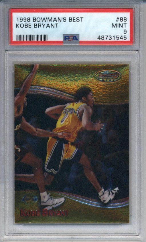1998-99 Bowman's Best #88 Kobe Bryant PSA 9